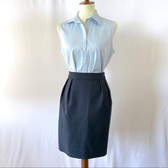 kate spade Dresses & Skirts - KATE SPADE Blue Career Skirt